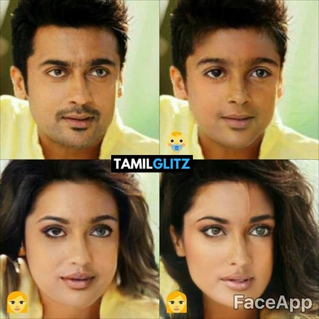 Top 10 Tamil Actors in Faceapp Edits 5