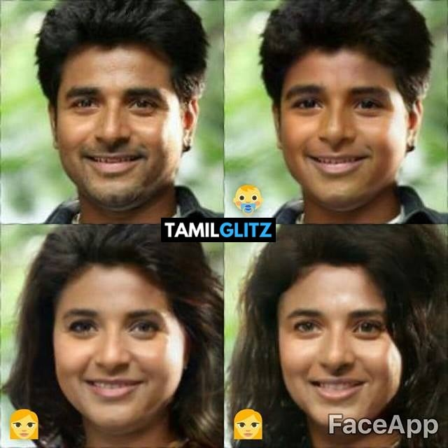 Top 10 Tamil Actors in Faceapp Edits 1