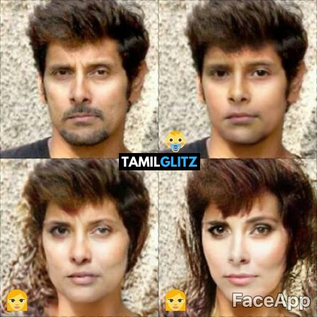 Top 10 Tamil Actors in Faceapp Edits 6