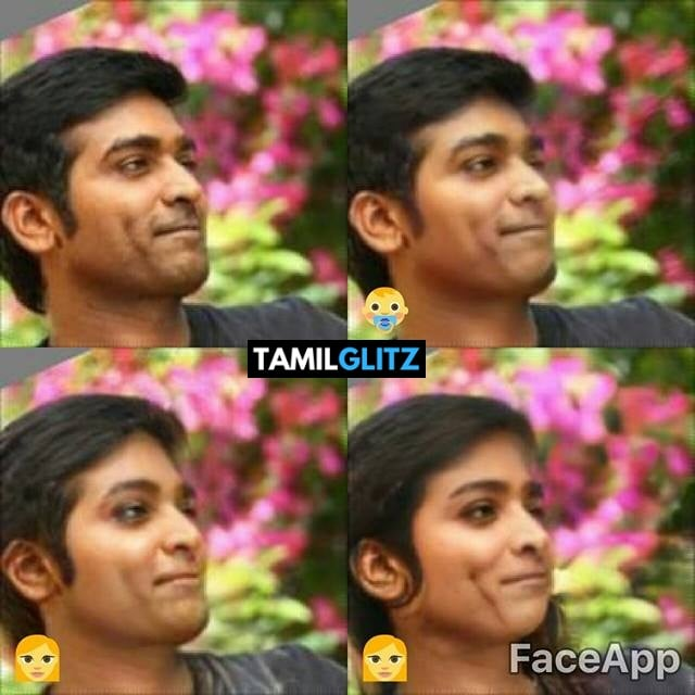 Top 10 Tamil Actors in Faceapp Edits 2