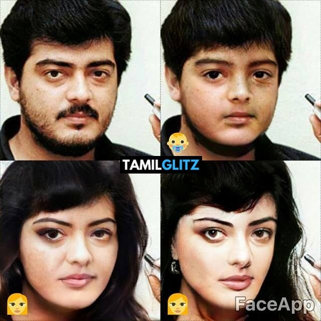 Top 10 Tamil Actors in Faceapp Edits 7