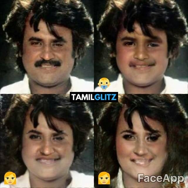 Top 10 Tamil Actors in Faceapp Edits 10