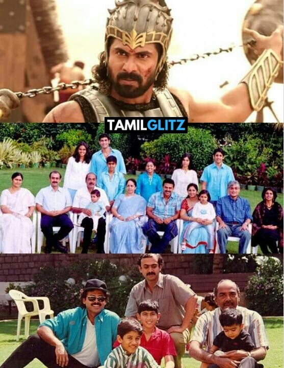Real Life Family Photos of Baahubali 2 Actors 16