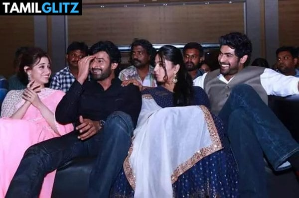 10 Unseen Photos of Anuskha and Prabhas 5