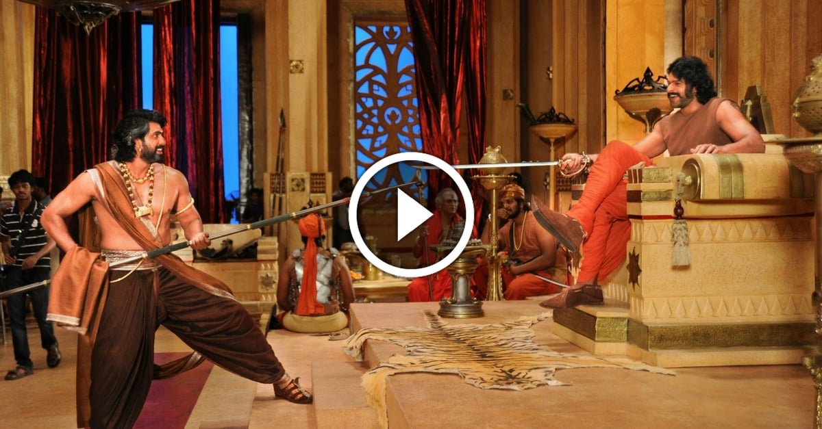Baahubali The Conclusion Making | Prabhas | Rana | Anushka | Tamanna 20
