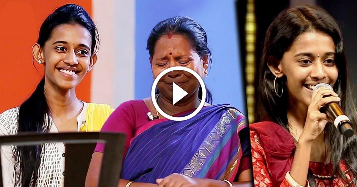 My Mom's Singing Skills Helped Me : Super Singer Priyanka Interview | Chinna Chinna Vanna Kuyil 1