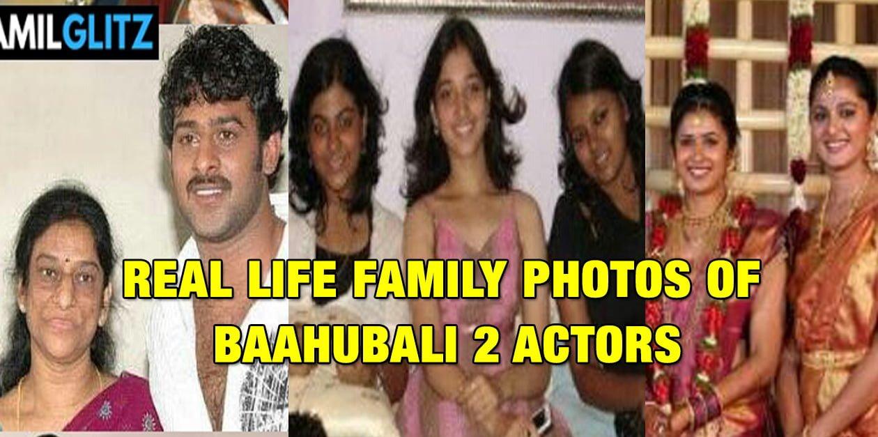 Real Life Family Photos of Baahubali 2 Actors 11