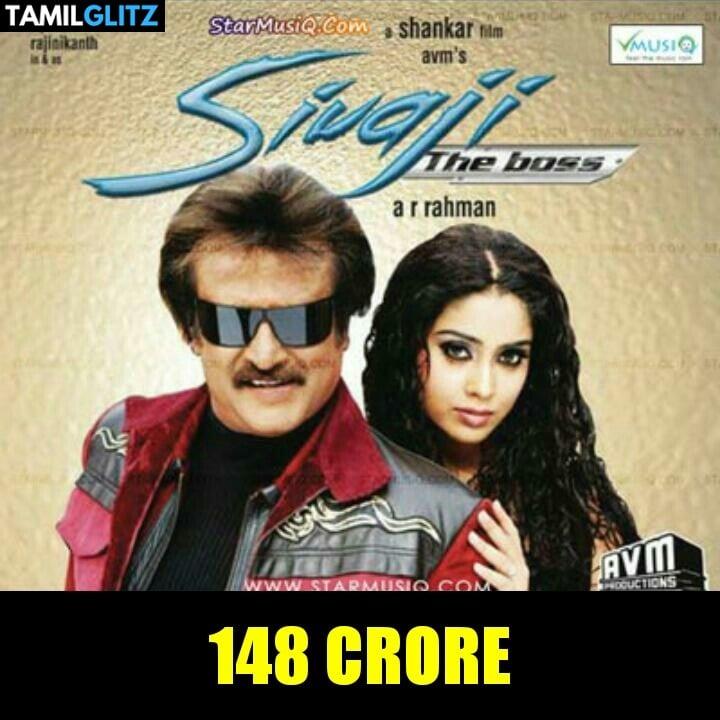 Top 10 Highest Grossed Tamil Movies 1