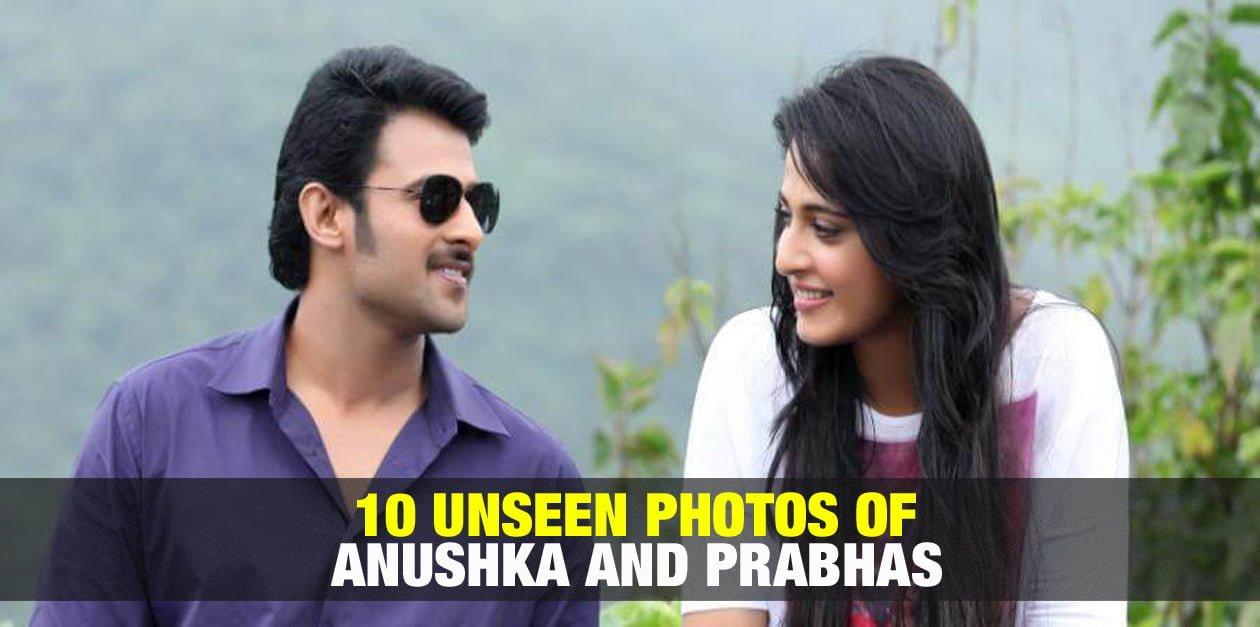 10 Unseen Photos of Anuskha and Prabhas 2