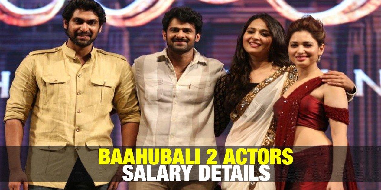 Baahubali 2 Actors Salary Details 46