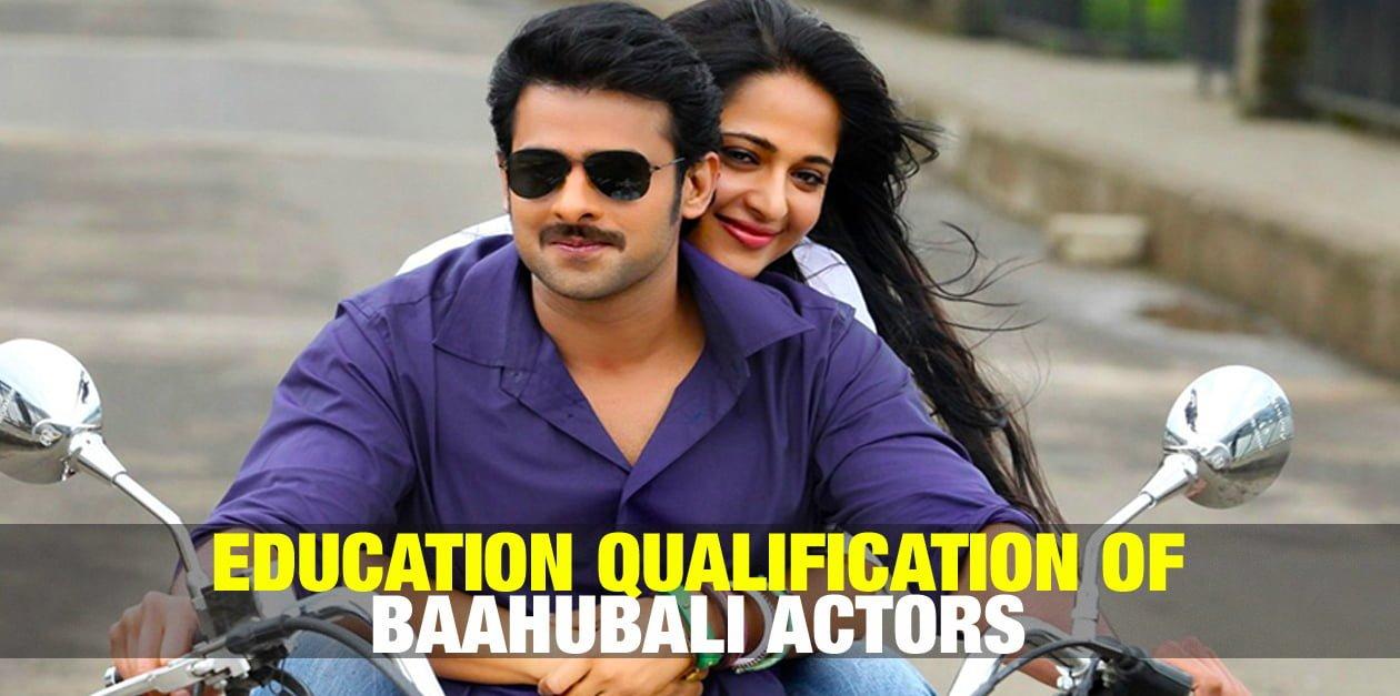 Education Qualification of Baahubali Actors 22