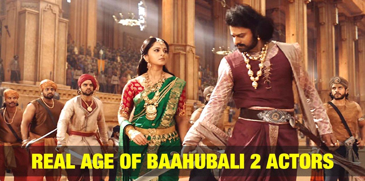Real Age of Baahubali 2 Actors 3