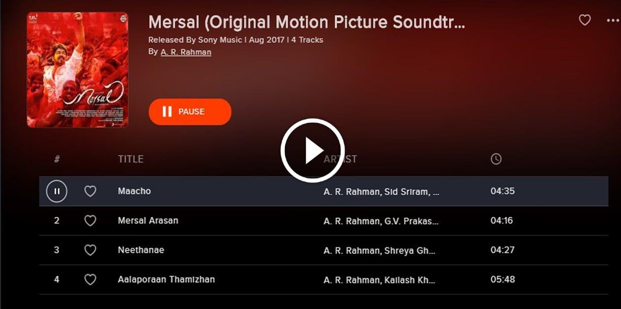 Mersal Movie Full Songs 2
