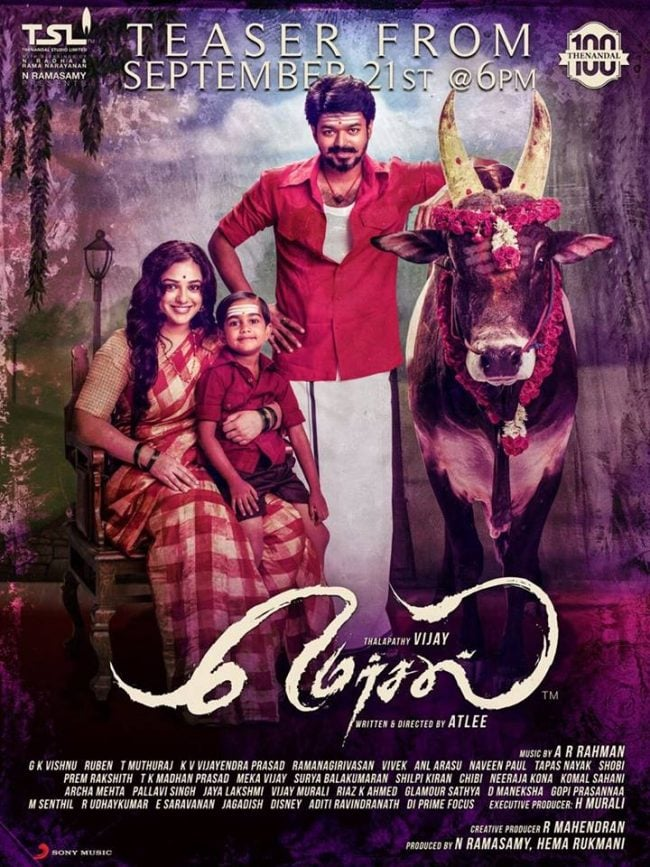 Mersal New Poster Viral ON Internet 3