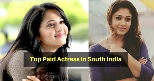 Top 8 Highly Paid Actress In South India 1