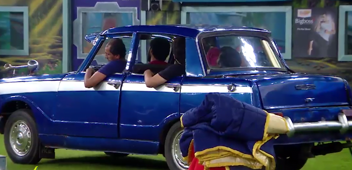 In Today's Car Task Snehan Shows His Real Face 14