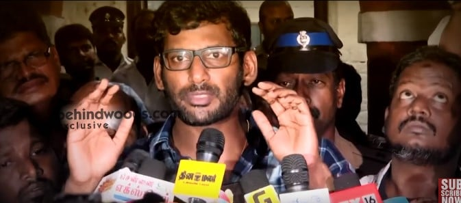 Vishal Responds To TamilRockers Admin Arrest [ Exclusive