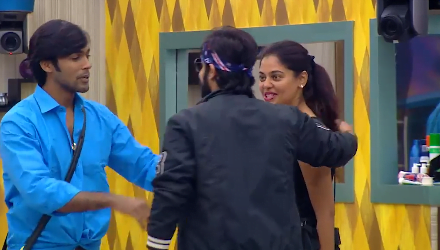 Funny Task: Arav And Bindhu Start Acting 5