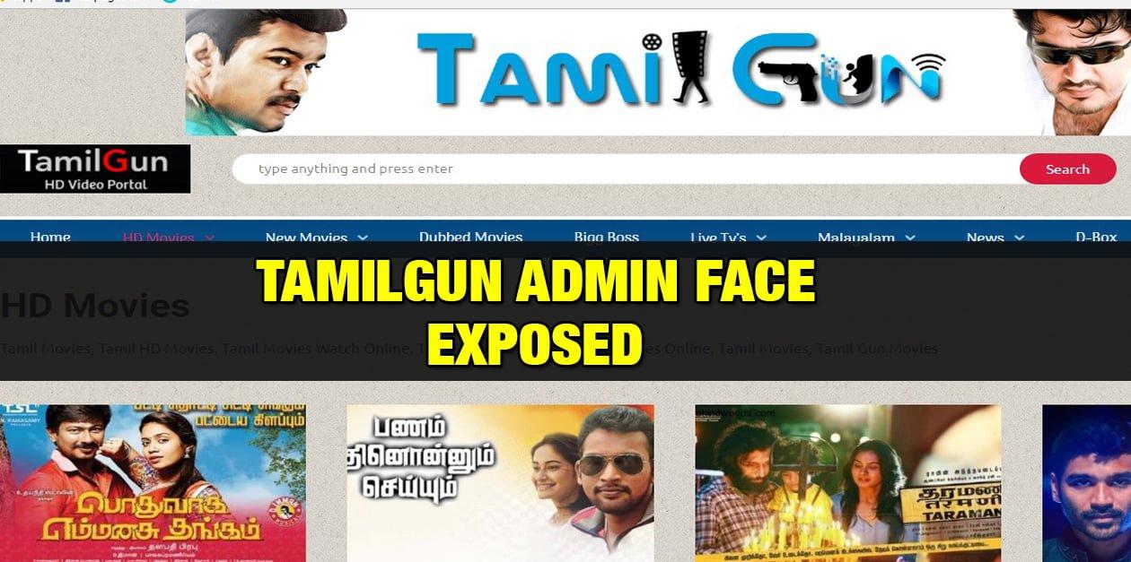 TamilGun Admin Face Revealed 1