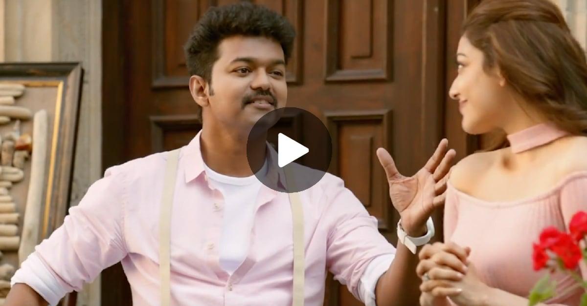 Maacho Video Song | Mersal | Vijay, Kajal Aggarwal 1