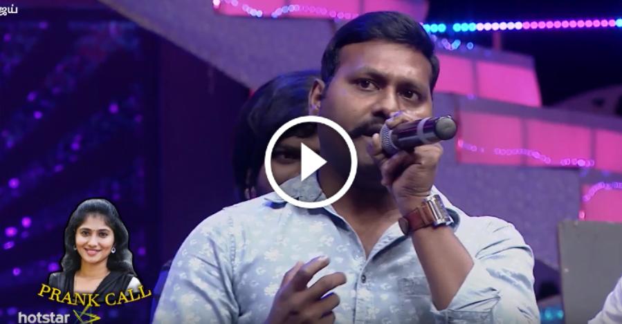 Prank Call to Julie ?? for Heroine Selection | Vijay TV 1
