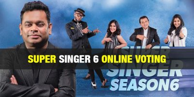 Super Singer Vote Junior – Online Voting – Season 7 – Vijay TV