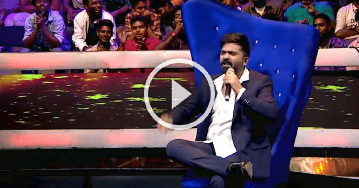 STR's message to his haters in Kabali style | SuperSinger Promo 1