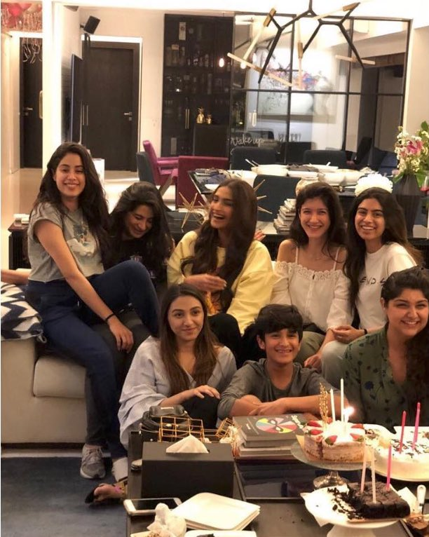 Sridevi's Daughter Birthday Celebration Video 1
