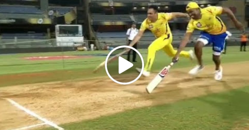Bravo vs Dhoni Run Race 9