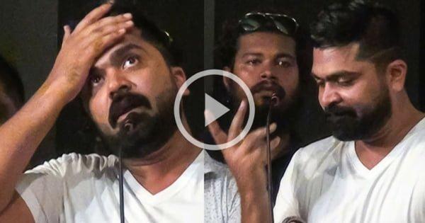 STR Cries on Stage - Shocking Video 15