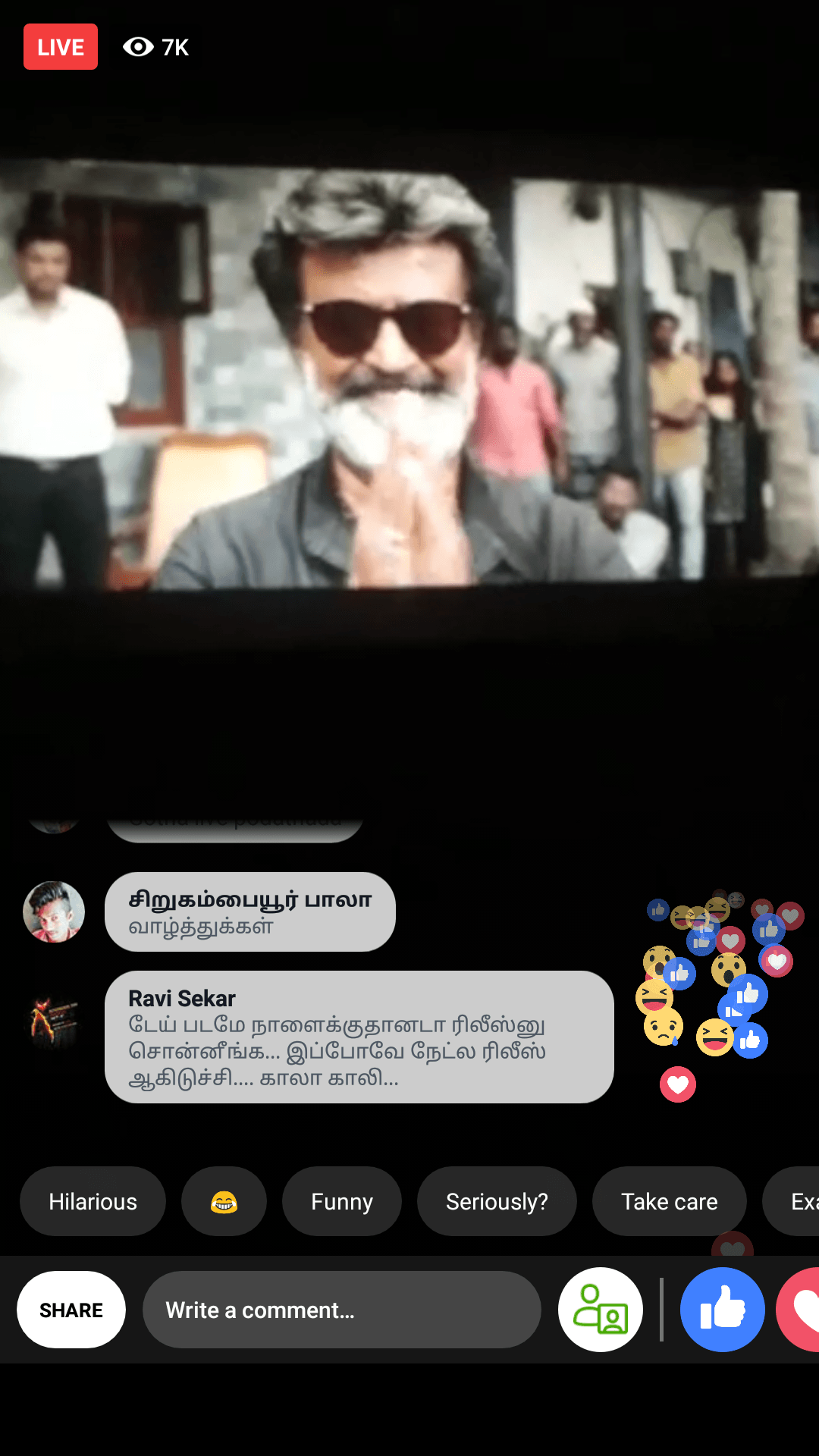 43 Minutes of Kaala Streamed Live online | Gets arrested 3
