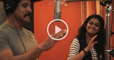 Vikram and Keerthy Suresh Singing together for Saamy² 10