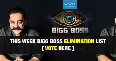 Bigg Boss Tamil Vote (Online Voting) Season 3