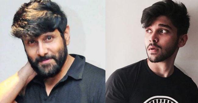 Actor Vikram's son Dhruv held for Rash Driving 1