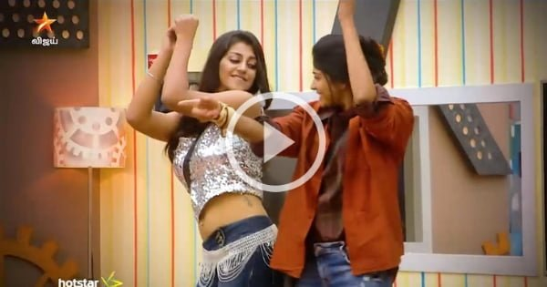 Yaashika and Vijayalakshmi fun Dance in BB house 12