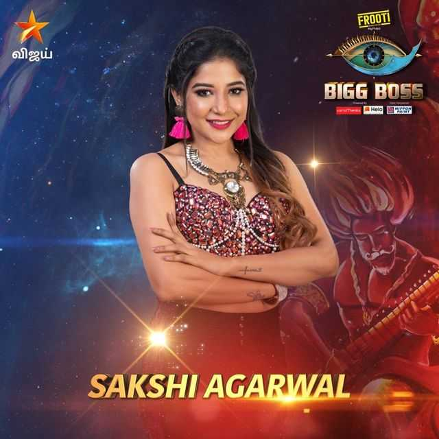 Bigg Boss Tamil Vote for Sakshi Agarwal
