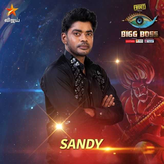 Bigg Boss Tamil Vote for Sandy