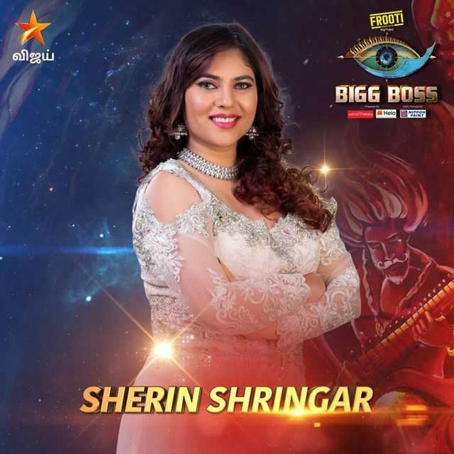 Bigg Boss Tamil Vote for Sherin Shringar
