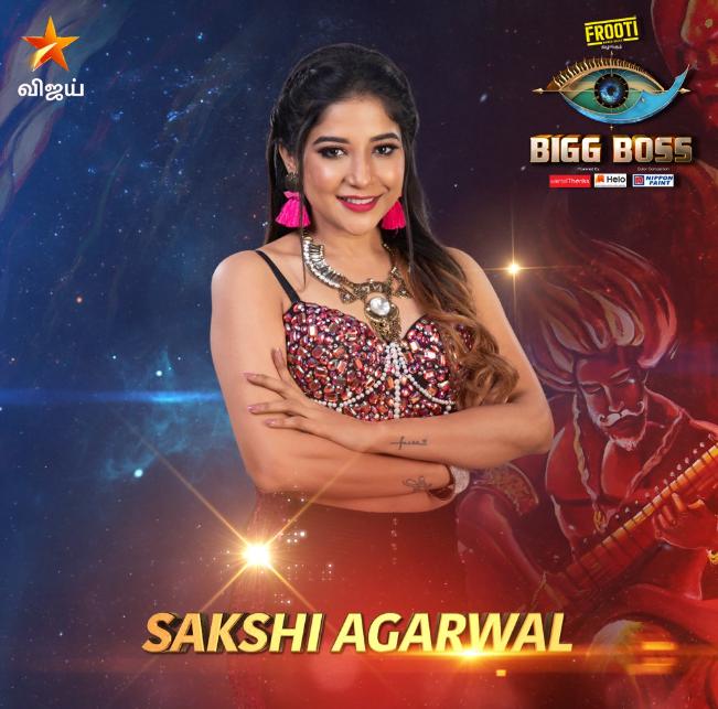Bigg Boss 3 Tamil- Sakshi Agarwal