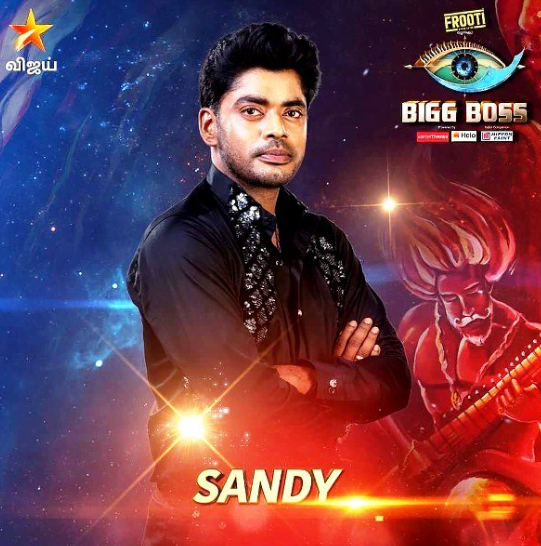 bigg boss 3 tamil -sandy