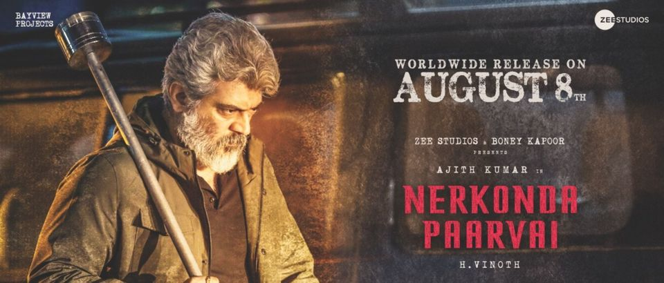 Nerkonda Paarvai Movie Leaked Online for Download By