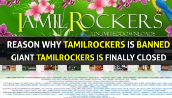 TamilRockers Blocked - TamilRockers Closed