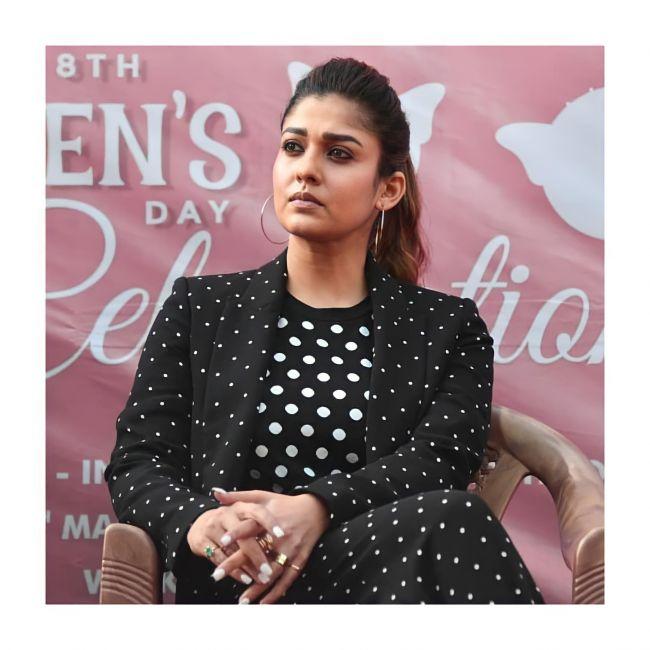 Nayanthara in Black Dress