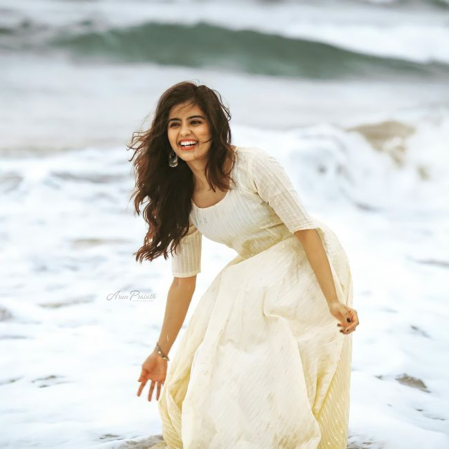 Amritha Aiyer In Beach