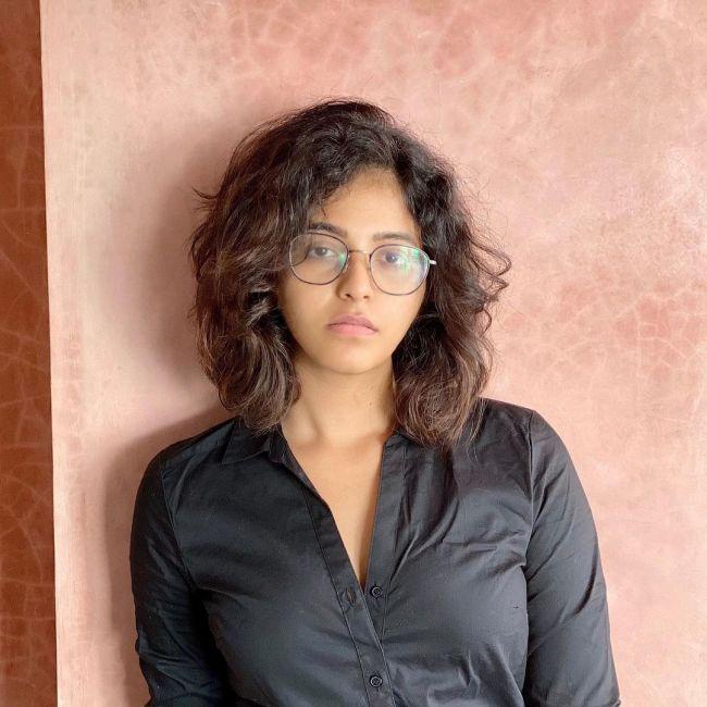 Anjali in Black