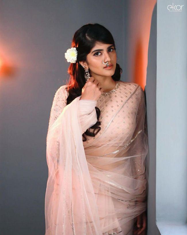 Megha Akash Saree