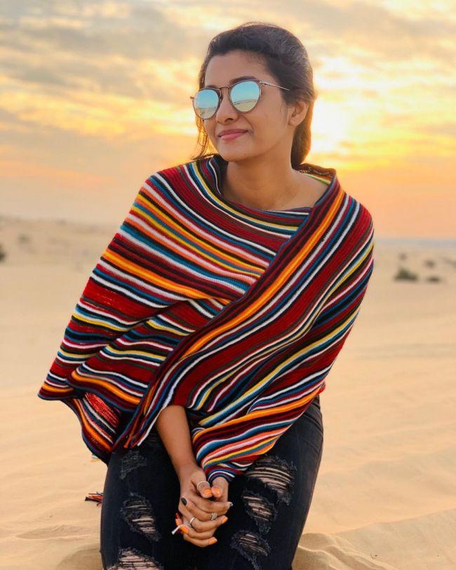 Priya Bhavani Shankar in Beach