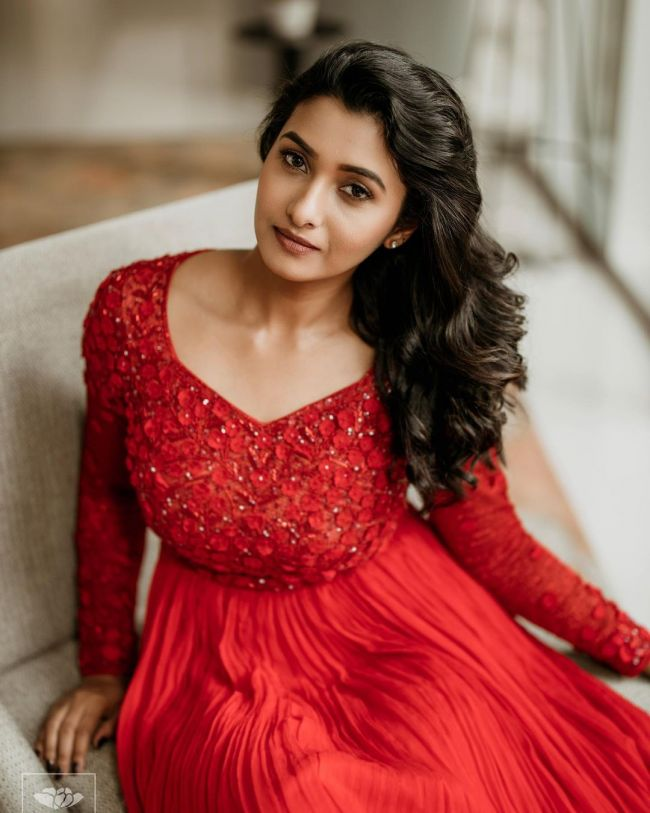 Priya Bhavani Shankar in Red