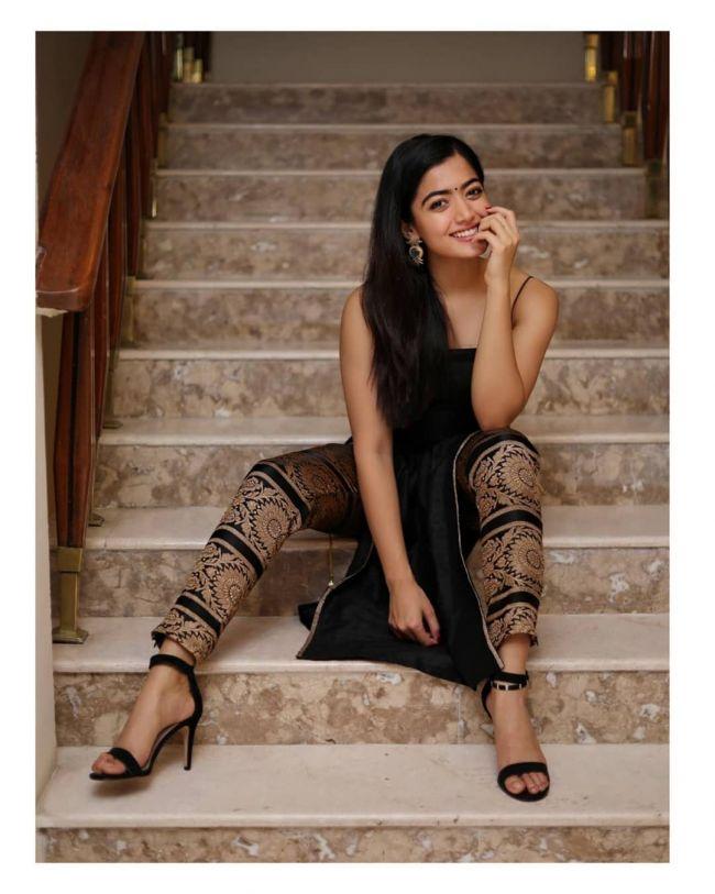 Rashmika Mandhanna Black
