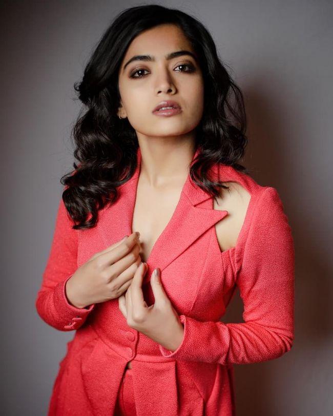 Rashmika Mandhanna Red